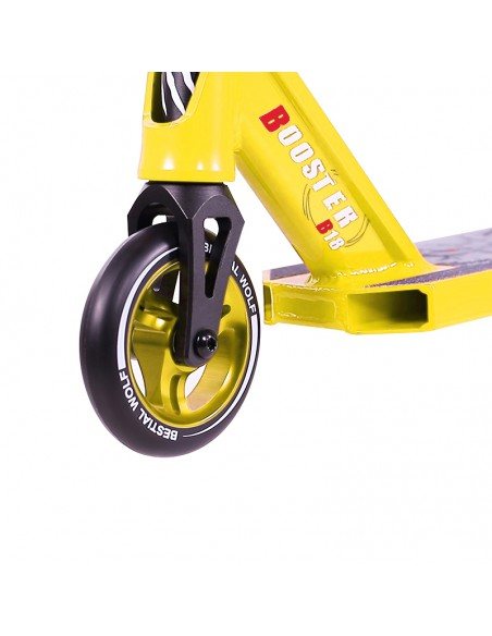 SCOOTER BW BOOSTER B18 AMARILLO2197