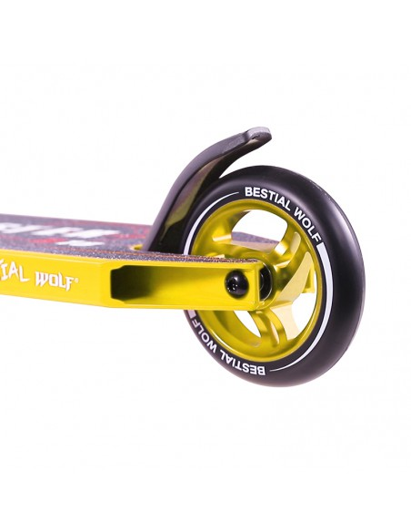 SCOOTER BW BOOSTER B18 AMARILLO2200