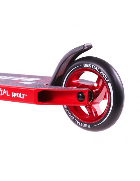 SCOOTER BW BOOSTER B18 ROJO2243